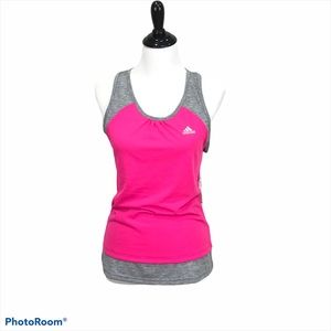 adidas Ultimate loose fit racer back tank top